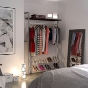 Space Pro Relax 51''W Closet System; Tuxedo