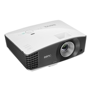 BenQ MW705 720p WXGA Business 3D Ready DLP Projector, Black/White