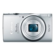Canon ® PowerShot ELPH 350 HS 20.2MP Compact Camera, 12x Zoom, 4.5 - 54 mm, Silver