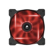 Corsair Air Series AF140 Quiet Edition High Airflow Cooling Fan, Red (CO-9050017-RLED)