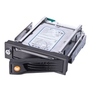 "CRU RTX100-INT 3.5"" SAS/SATA 6 Gbps Internal Drive Bay Adapter, Black (35100-0430-0002)"