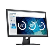 "Dell Black 24"" Black FHD LED-LCD Monitor"