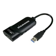 Diamond Multimedia BizView (BVU5500) USB 3.0 External Graphic Adapter, Black