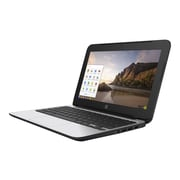 "HP P0B76UT#ABA Chromebook 11 G4, 11.6"" HD Display, Intel Celeron N2840, 16GB SSD, 4GB RAM, Black"