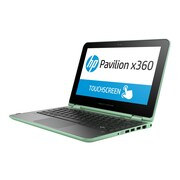 "HP N5R11UA#ABA Pavilion x360 11-K161nr 12"" Notebook, 11.6"" HD Touchscreen, Intel Pentium N3700 500GB HDD 4GB RAM, Windows, Green"