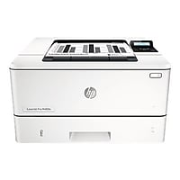 HP LaserJet Pro M402dn Monochrome Laser Printer with Duplex (White)