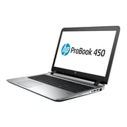 "HP ProBook 450 G3 15.6"" Full HD Notebook, Intel Core i5 6200U, 500GB Hybrid Drive, 8GB RAM Windows, Black"