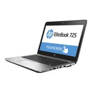 "HP EliteBook 725 G3 12.5"" HD Notebook, AMD A Series 8600B, 500GB HDD, 4GB RAM, Windows, Silver"