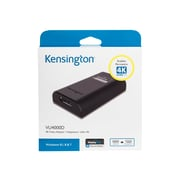 Kensington ® DisplayPort/USB Audio/Video Adapter, Black (K33989WW)