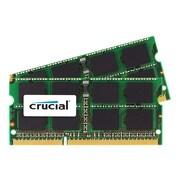 Micron® Crucial™ CT2K8G3S186DM 16GB (2 x 8GB) DDR3L SDRAM SoDIMM DDR3L-1866/PC3-14900 Desktop RAM Module