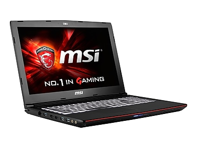 msi GE62 APACHE PRO-004 15.6 Gaming Notebook, Full HD, 6th Gen Intel Core i7, 1TB HDD, 16GB RAM, Windows 10, Black