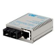 Omnitron miConverter® S-Series 1619-0-1 2 Port RJ45 to Fiber Ultra Compact Media Converter