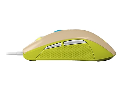 SteelSeries 62339 Rival 100 USB Wired Optical Gaming Mouse, Gaia Green