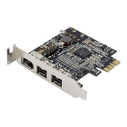 Syba SD-PEX30009 Multimedia 2-Port PCI Express Low Profile FireWire Adapter Card