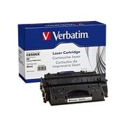 Verbatim® 99230 Black 6500 Pages Yield Remanufactured Toner Cartridge for HP LaserJet P2050 Series Laser Printer