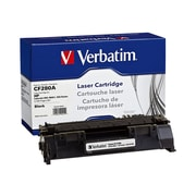 Verbatim® 99221 Black 2700 Pages Yield Remanufactured Toner Cartridge for HP LaserJet 400/M401 Series Laser Printer