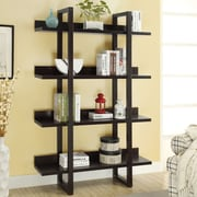Monarch Specialties Inc. 4 Shelf 71'' Accent Shelves