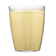 Kraftware Fishnet Double Wall Insulated Tumbler II (Set of 4); Ivory