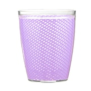 Kraftware Fishnet Double Wall Insulated Tumbler II (Set of 4); Lavender