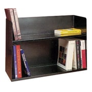 Buddy Products 2 Tier Book Rack; Black