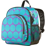 Wildkin Big Dots Pack 'n Snack Backpack; Aqua
