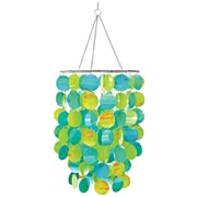 Brewster Home Fashions WallPops Room Accessories Pearl Chandelier; Blue