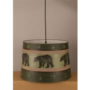 Coast Lamp Mfg. Rustic Living Drum Pendant