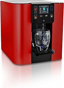 Sage Water Coolers Bottleless Countertop Hot, Cold, and Room Temperature Water Cooler; Red Metallic WYF078277656658