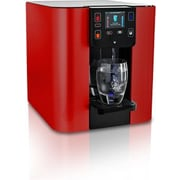 Sage Water Coolers Bottleless Countertop Hot, Cold, and Room Temperature Water Cooler; Red Metallic
