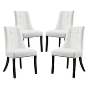 Modway Noblesse Side Chair (Set of 4); White