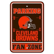 JTD Enterprises NFL Parking Sign; Cleveland Browns