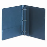 SAMSILL CORPORATION Top Performance Dxl Locking Binder with Label Holder, 1'' Capacity