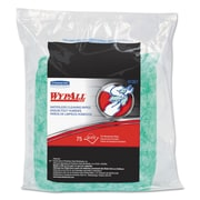WypAll* Waterless Cleaning Wipes Refill Bags, 10 1/2 x 12 1/4, 75/pack