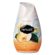 Renuzit Adjustables Air Freshener, Simply Vanilla, Solid, 7 Oz, 12/carton