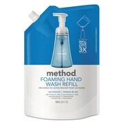 Method Foaming Hand Wash Refill, 28 Oz Pouch, Sea Minerals, 6/carton