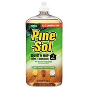 Pine-Sol Squirt 'n Mop Multi-Surface Floor Cleaner, 32 Oz Bottle, Original Scent, 6/ct
