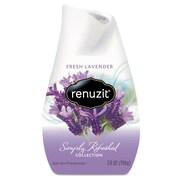 Renuzit Adjustables Air Freshener, Fresh Lavender, Solid, 7 Oz, 12/carton
