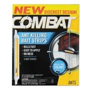 Combat Ant Bait Insecticide Strips, 0.35 Oz, 5/box, 12 Box/carton