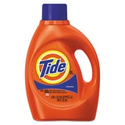 Tide Ultra Liquid Laundry Detergent, Original Scent, 3.1 Qt. Bottle, 4/ct