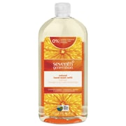 Seventh Generation Natural Hand Wash, Mandarin Orange & Grapefruit, 32 Oz Bottle, 6/carton