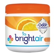 BRIGHT Air Super Odor Eliminator, Mandarin Orange & Fresh Lemon, 14oz, 6/carton