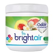 BRIGHT Air Super Odor Eliminator, White Peach & Citrus, 14oz, 6/carton