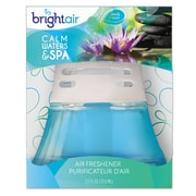 BRIGHT Air Scented Oil Air Freshener, Calm Waters & Spa, Blue, 2.5oz, 6/carton