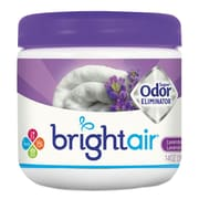 BRIGHT Air Super Odor Eliminator, Lavender & Fresh Linen, Purple, 14oz