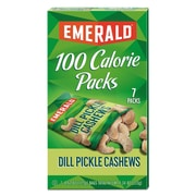 Emerald® 100 Calorie Pack Nuts, Dill Pickle Cashews, Nuts, 0.62 oz (33525)