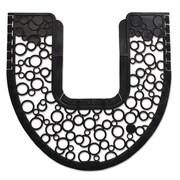 Fresh Products Commode Mat 2.0, 21 5/8 x 23, Black, 6/carton
