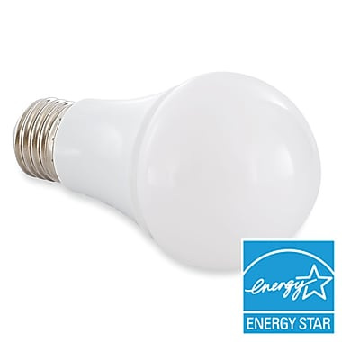 Verbatim A19 LED Bulb, Contour Series Omnidirectional, 2700K, 800 Lumens, 60W Replacement Dimmable