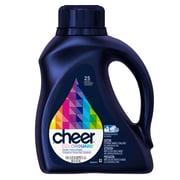 Cheer Liquid He Laundry Detergent Fresh Clean Scent 1.18L, 6/Pack
