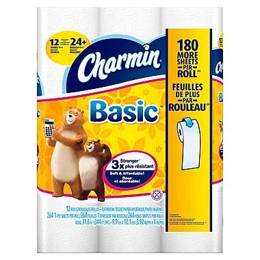 Charmin® 1-Ply Basic Bathroom Tissue