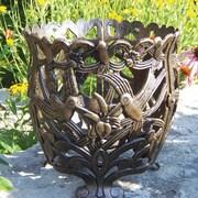 Oakland Living Hummingbird Aluminum Pot Planter